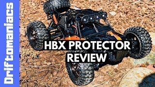 HBX Protector 4WD Desert Buggy Review - 38kmh!