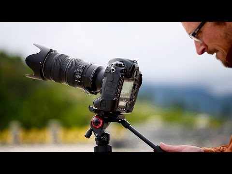 My new Travel Tripod - Manfrotto BeFree Live