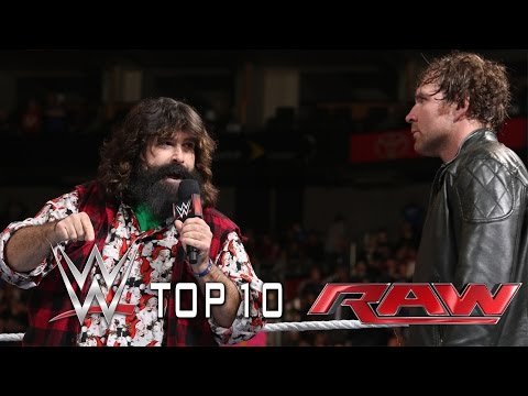 Top 10 Wwe Raw Moments: October 21, 2014 video