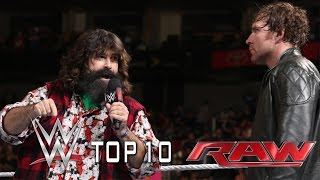 Top 10 WWE Raw moments- October 21, 2014