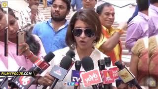 Manchu Lakshmi Funny Telugu English Conversation with Media | Funny Spoof | Comedy Troll Video