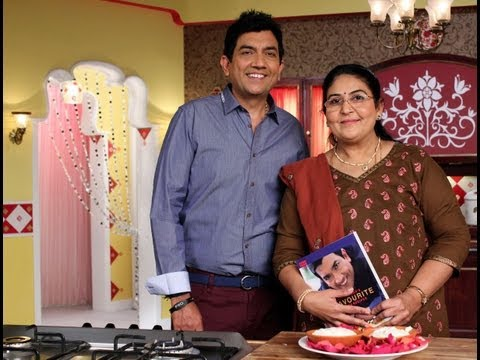 Lychee Ka Shrikhand on Secret Recipe show with Sanjeev Kapoor