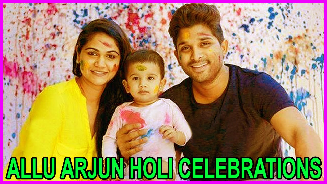 Allu arjun child images