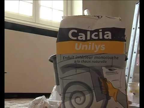 Unilys de la chaux sur vos murs par ciments calcia youtube - Chaux blanche calcia ...