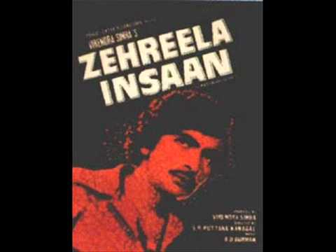 213 O hansini Kishore Kumar Zehreela Insaan R D Rishi Kapoor...