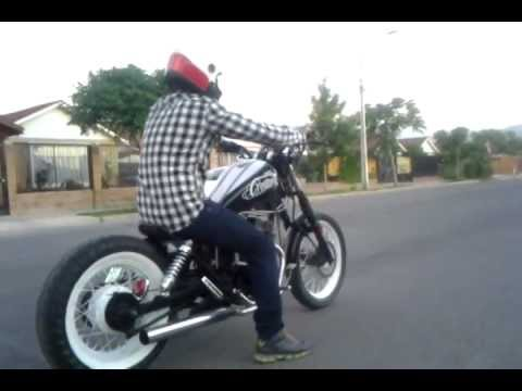 honda rebel 250 bobber los andes chile reo - YouTube