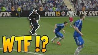FIFA 15 - CAMERAMAN FUNNY GLITCH ! كاميرامان داخل الملعب