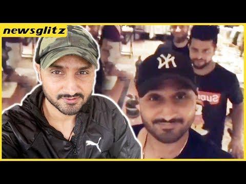 கமல் பாட்டுக்கு ஆட்டம் ?  Harbhajan Singh Raina Enjoy Kamal Song  | IPL 2018