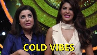 Jacqueline Fernandez & Farah Khan Share Cold Vibes   Bollywood News
