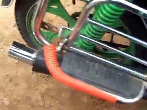 Насадка на глушитель скутера своими руками 39