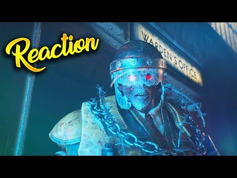 BLACK OPS 4 ZOMBIES - BLOOD OF THE DEAD INTRO CUTSCENE REACTION! (Mob of the Dead Remakes)