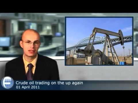Crude oil trading on the up again