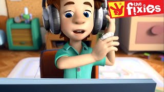 The Fixies ★ The Fixies English - The Microphone / The Mixer  ★ Fixies English | Cartoon For Kids