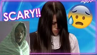 Terrifying Talent Freaky Magician Girl Scares Judges Audience Reaction