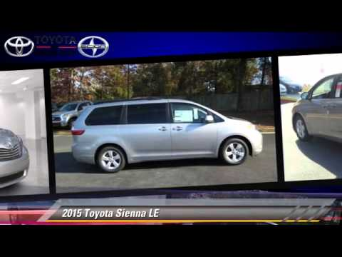 new 2015 toyota sienna le union city youtube. Black Bedroom Furniture Sets. Home Design Ideas