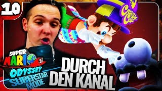 Durch die Hardcore-Kanalisation! 🌍⭐️ Super Mario Odyssey Superstar Mode #10