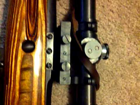 Mosin Nagant PE Sniper Scope and Mount Installed