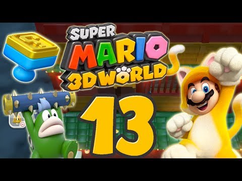 Let's Play Super Mario 3D World Part 13: Das Japan über den Wolken