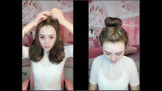 Hướng Dẫn Tết Tóc Đẹp Đơn Giản Dễ Làm - Easy Hairstyles Tutorials For Girls #4