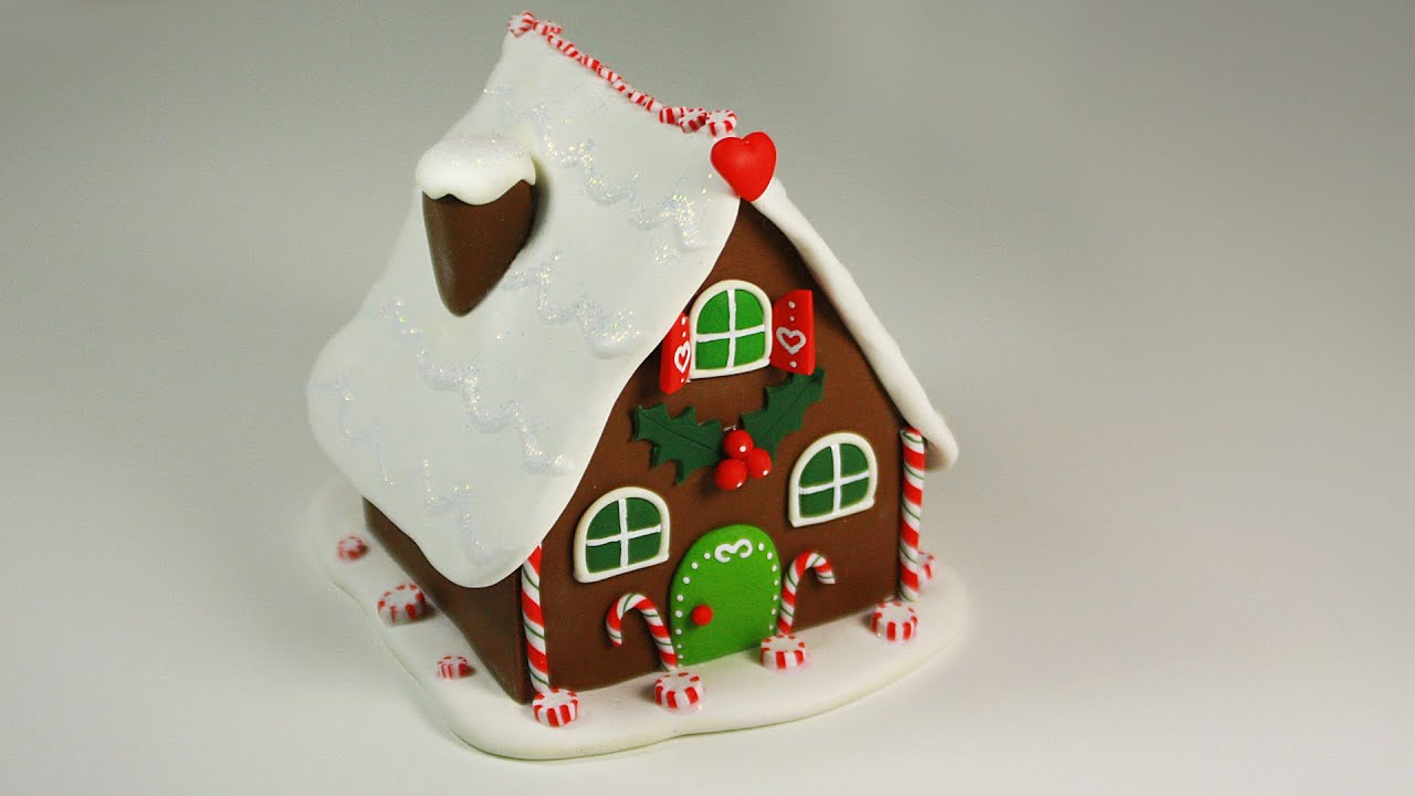 Gingerbread Houses Tutorial images