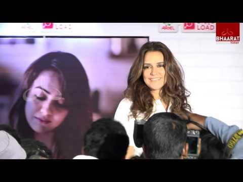 Bollywood Actress Neha Dhupia in Hyderabad I Bhaarat Today