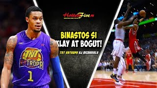 ANG BUMASTOS KAY KLAY THOMPSON AT ANDREW BOGUT! PERO NAHULI NI DWIGHT HOWARD!| KJ MCDANIELS