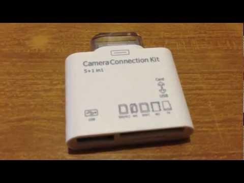 Adattatore USB con Lettore di Memorie per iPad