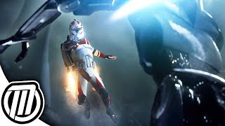 Star Wars Battlefront 2: CLONE JUMPTROOPER | Clone Wars Gameplay