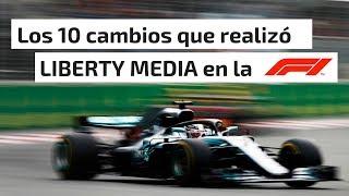 LOS 10 CAMBIOS QUE REALIZÓ LIBERTY MEDIA EN LA FÓRMULA 1