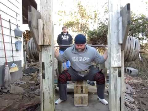 Heavy Squats worksets 495 up to 580 max Image 1
