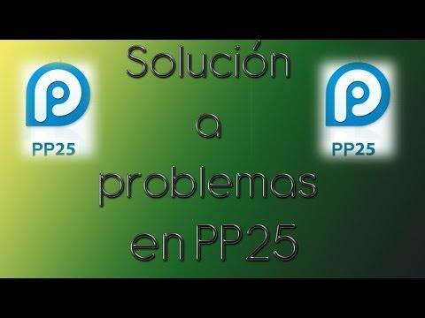 PP25   Solución al problema