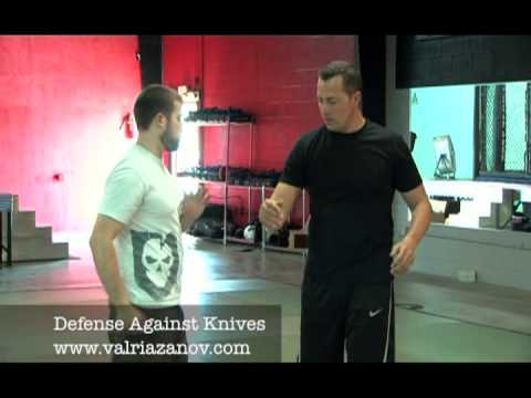 Understanding knife defense and how to defend yourself with Val Riazanov Image 1