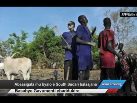 Abaasigala mu byalo e South Sudan balaajana