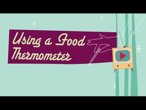 Using a Food Thermometer