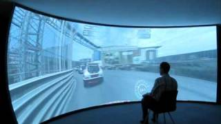 Immersive gaming with multi projector software Warpalizer