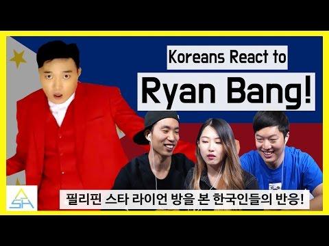 Download Lagu Koreans React to Ryan Bang [ASHanguk] MP3 Free