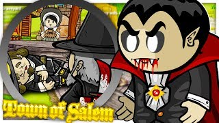 NEW VAMPIRE HUNTER GAMEMODE! - TOWN OF SALEM MURDER MYSTERY WITH FRIENDS