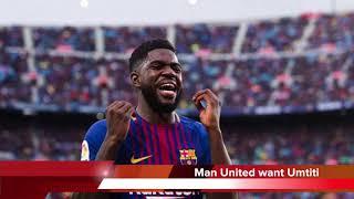 Football News - Kane Responds to Insults, Morata & Cavani in Swap Deal, Umtiti