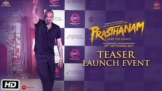 Prasthanam - Teaser launch event | Sanjay Dutt | Jackie Shroff | Deva Katta | 20th September 2019