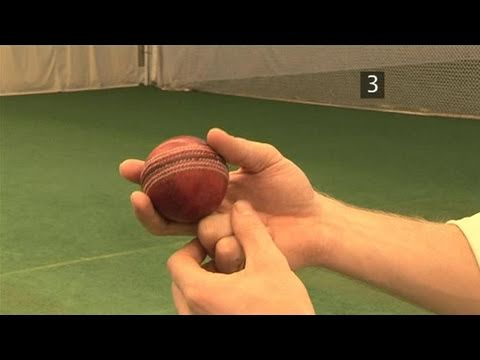 How To Bowl Outswing By Proper Ball Gripping