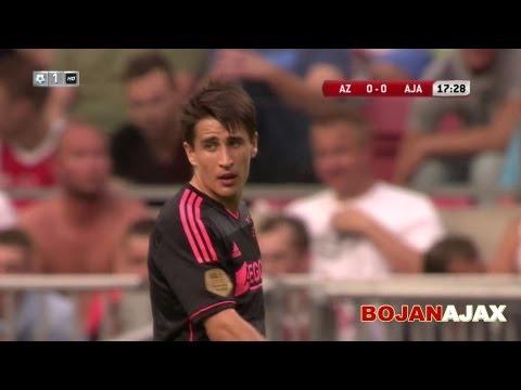 Bojan Krkic vs AZ Alkmaar Johan Cruijff Schaal (Super Cup) HD 27/07/2013