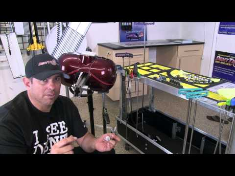 MPDR Review - Motorcycle Paintless Dent Removal Vise Stand