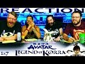 Legend Of Korra 1x7 REACTION!!