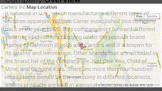Carters Inc Corporate Office Contact Information
