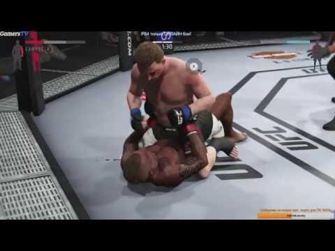 И опять УГАР с московским школьником  MUST SEE! EA Sports UFC 2