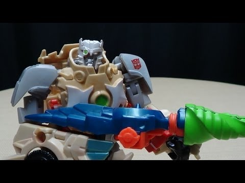 Transformers Prime Beast Hunters Deluxe RATCHET: EmGo's Transformers Reviews N' Stuff