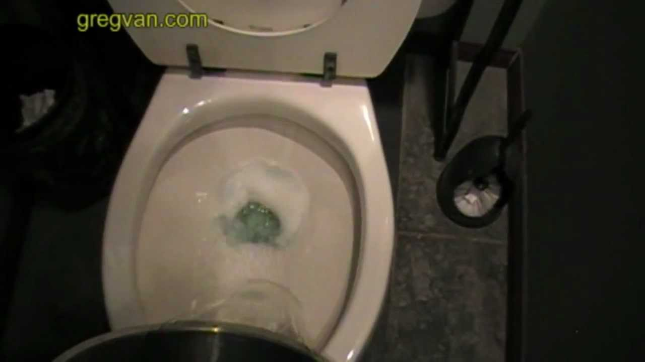 How To Flush Your Toilet With A Bucket Of Water Plumbing