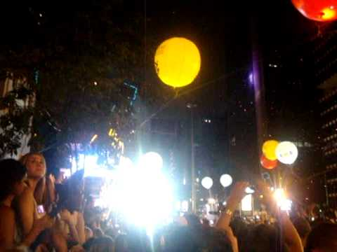 Reveillon na Paulista 2011 - The countdown to 2011 in Sao Paulo Brazil