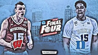 Wisconsin Basketball - 1 Wisconsin vs 1 Duke 2015 National Championship