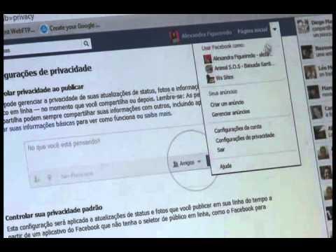 Conect! Dicas com WS Sites - Segurança e Privacida no Facebook